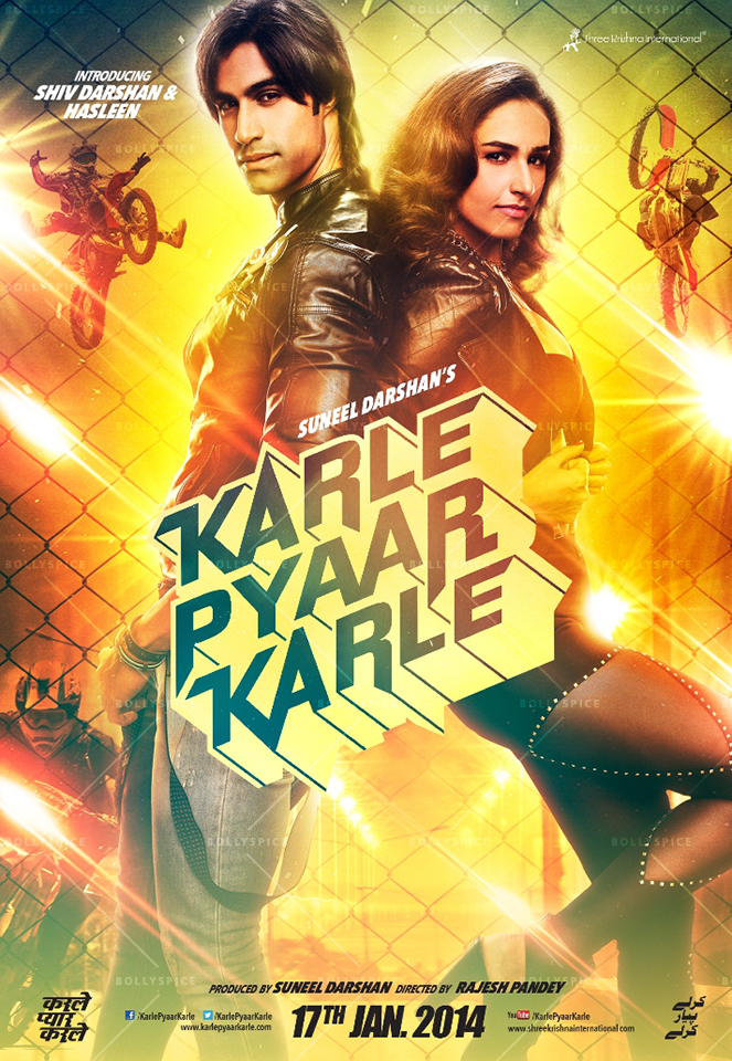 14jan KPK Poster05 Karle Pyaar Karle's action packed trailer