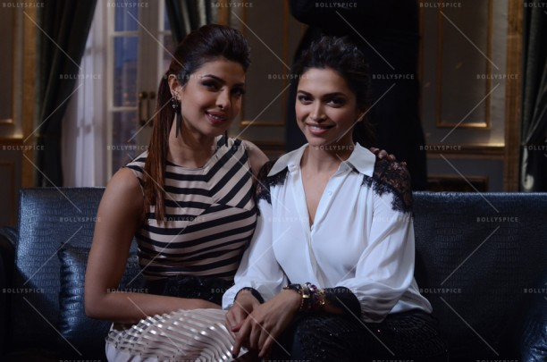 14jan KWK4 PriyankaDeepika01 612x405 Koffee with Karan Preview: Priyanka Chopra and Deepika Padukone