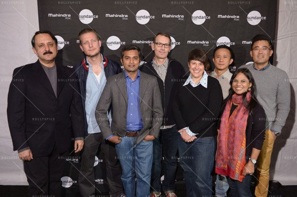 PARK CITY, UT - JANUARY 21: Producer Rohit Khattar, filmmaker Tobias Lindholm, filmmaker Neeraj Ghaywan,  producer Paul Federbush,  producer Ashlee Page, director Hong Khaou, Aparna Pureit, and Matt Takata attend the Sundance Institute Mahindra Global Filmmaking Award Reception at The Shop during the 2014 Sundance Film Festival on January 21, 2014 in Park City, Utah.  (Photo by Michael Loccisano/Getty Images for Sundance Film Festival)