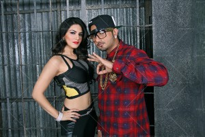 14jan Sunny Honey RM22 300x200 Honey Singh and Sunny Leone shoot for a song in Ragini MMS 2
