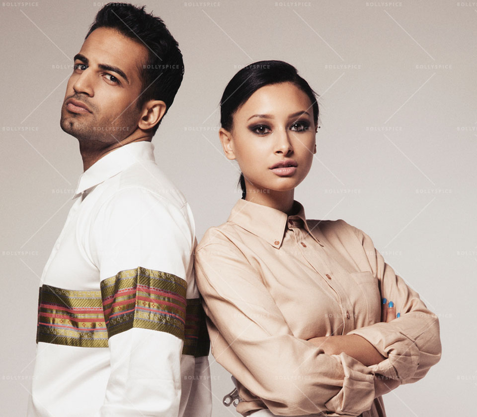 14jan UpenLeah01 Upen Patel seen with Leah Weller in Coeur Campaign