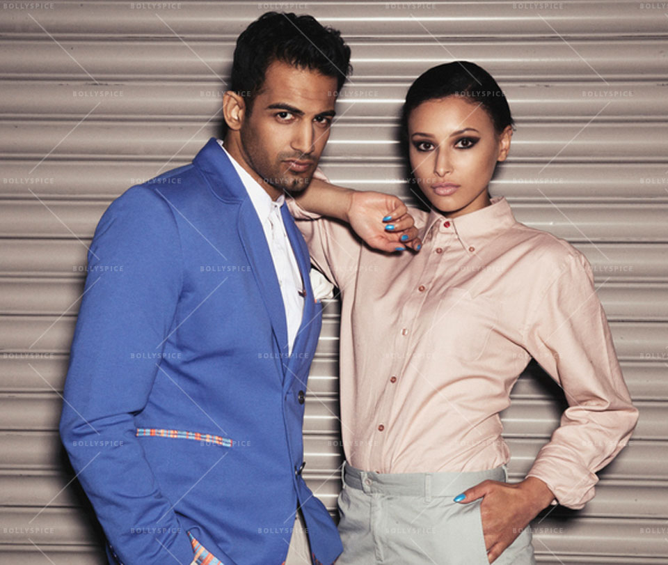 14jan UpenLeah03 Upen Patel seen with Leah Weller in Coeur Campaign