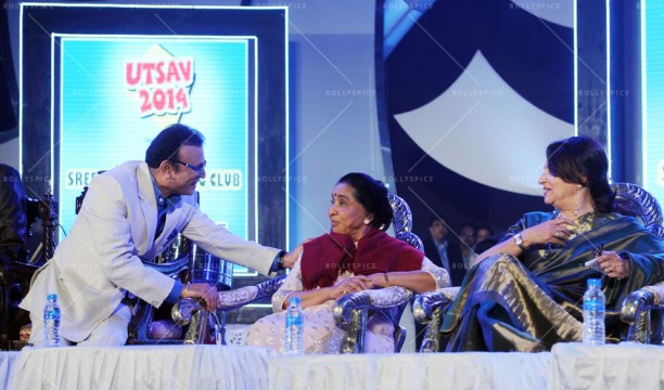 14jan UtsavKolkata02 612x360 Asha Bhosle, Annu Kapoor & Sharmila Tagore had given tribute to R.D.Burman in Kolkata