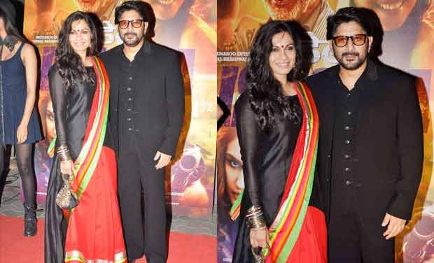 14jan whwn DedhIshqiya02 Whos Hot Whos Not: Dabboo Ratnanis calender launch and Dedh Ishqiya premier