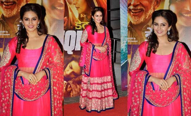 14jan whwn DedhIshqiya03 Whos Hot Whos Not: Dabboo Ratnanis calender launch and Dedh Ishqiya premier