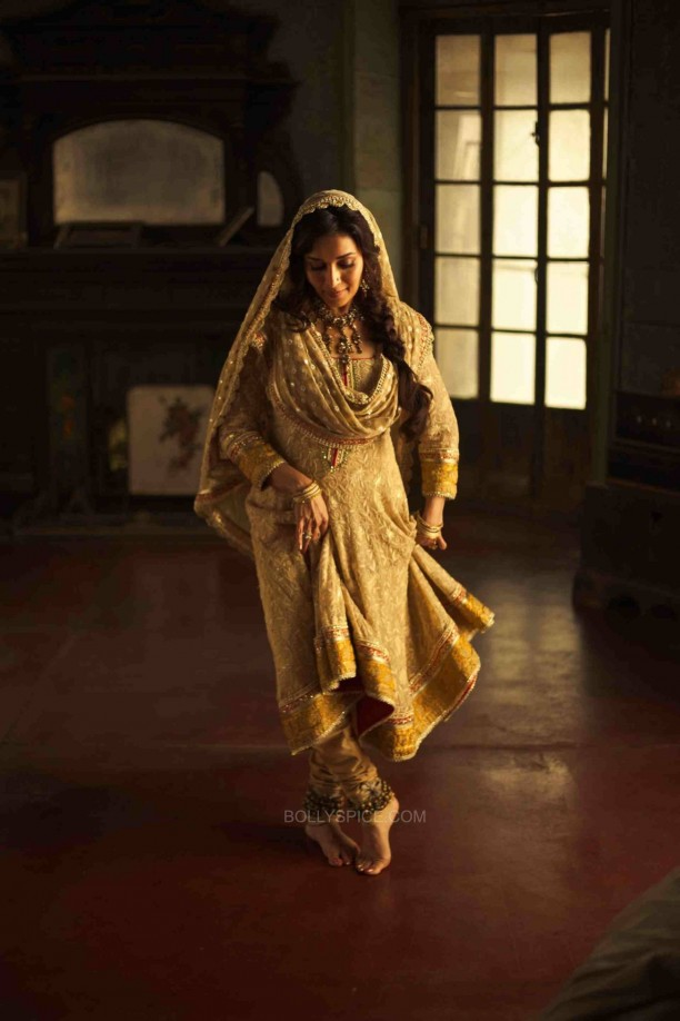 Dedh Ishqiya 8 612x918 Madhuri Dixit : In Dedh Ishqiya, there is everything for everybody   romance, betrayal, beautiful songs