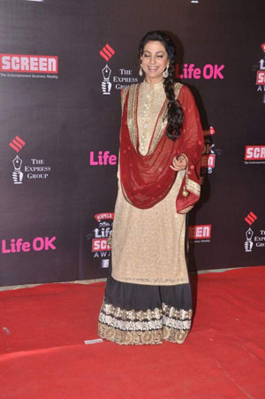 Juhi Whos Hot Whos Not   Screen Awards 2014