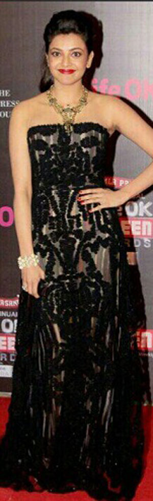 Kajal Whos Hot Whos Not   Screen Awards 2014