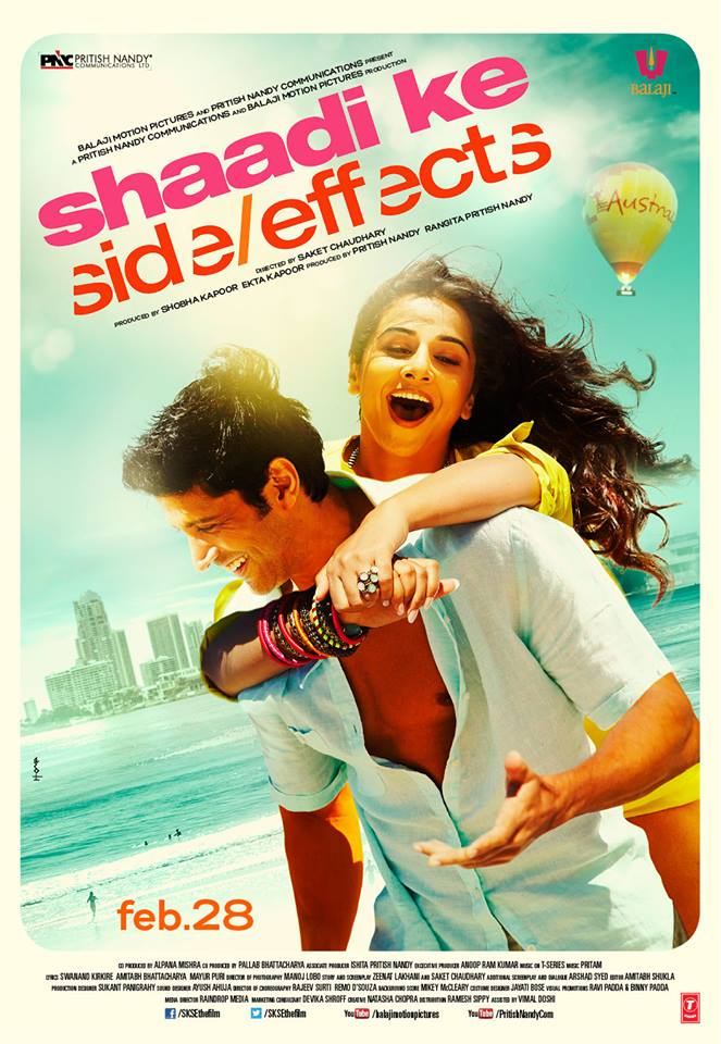 shaadhikeseposter01 First Song: Harry Is Not Bhramchari   Shaadi Ke Side Effects