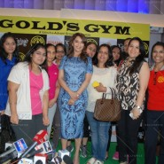 14feb AltheaShah GoldsGym MadhuriDixit08 185x185 Madhuri Dixit gives tips to women on getting fit and strong