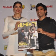 14feb FilmfareCoverDeepikaFarhan09 185x185 Special Report: Farhan Akhtar and Deepika Padukone unveil the special Filmfare issue