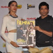 14feb FilmfareCoverDeepikaFarhan11 185x185 Special Report: Farhan Akhtar and Deepika Padukone unveil the special Filmfare issue