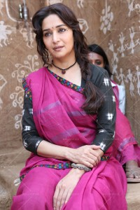 14feb GulaabGang stills12 200x300 Madhuri Dixit voices support for womens empowerment with poems