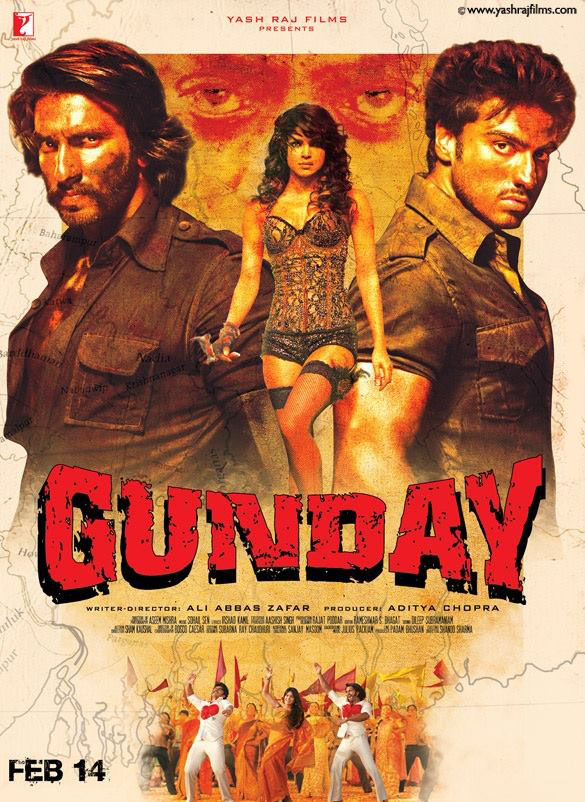 14feb Gunday MovieReview Gunday Movie Review