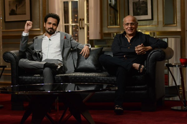 14feb KWK4 EmraanMahesh Koffee with Karan Season 4: With Emraan Hashmi and Mahesh Bhatt