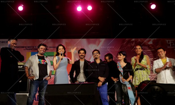 14feb QueenMusicLaunch06 612x368 Amit Trivedi enthralls the audience at Queen's music launch