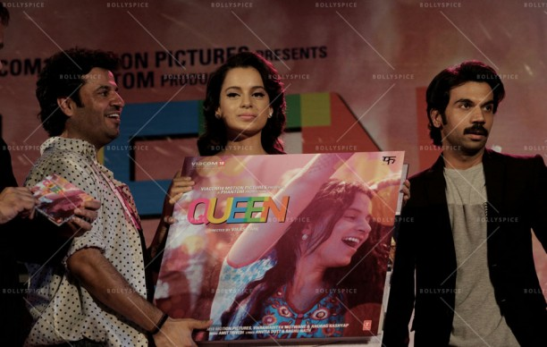 14feb QueenMusicLaunch07 612x388 Amit Trivedi enthralls the audience at Queen's music launch
