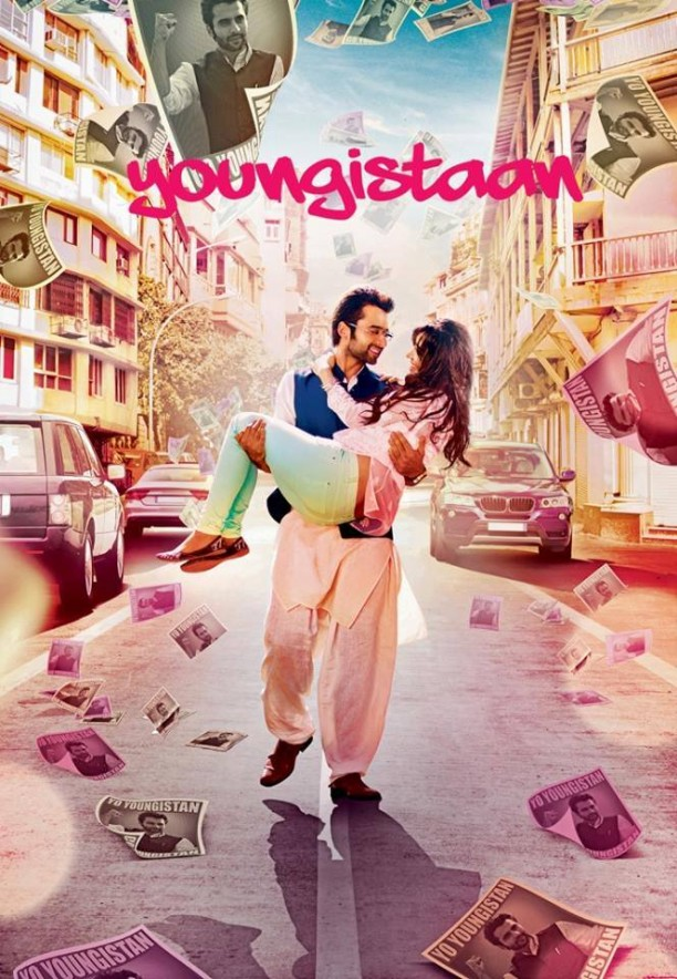 14feb Youngistaan 612x884 Youngistaan for Hindustan first look revealed!