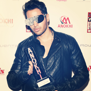 14feb abbashasan French star Abbas Hasan wins Artist of the Year award in Canada!