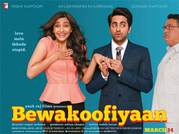 14feb bewakoofianmusic Bewakoofiyaan Music Review