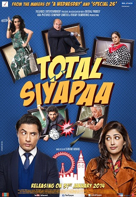 14feb totalsiyapaamusic Total Siyapaa are thinking of adding tag line Full Chaos