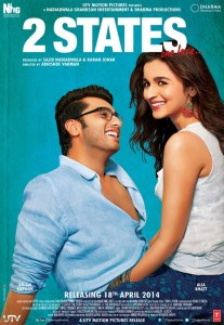 2 states poster 207x300 2 States Trailer gets over 6 million hits!
