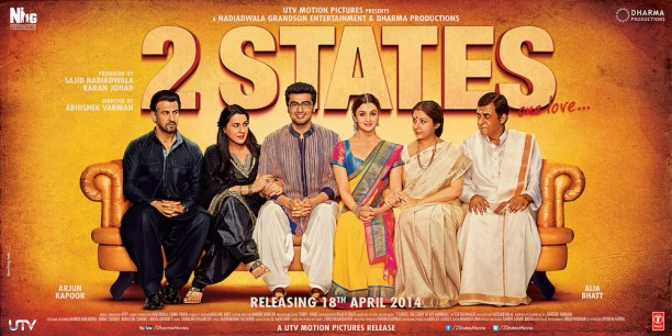 2States image 612x306 2 States Music Review