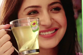 anushka sharma green tea commercial