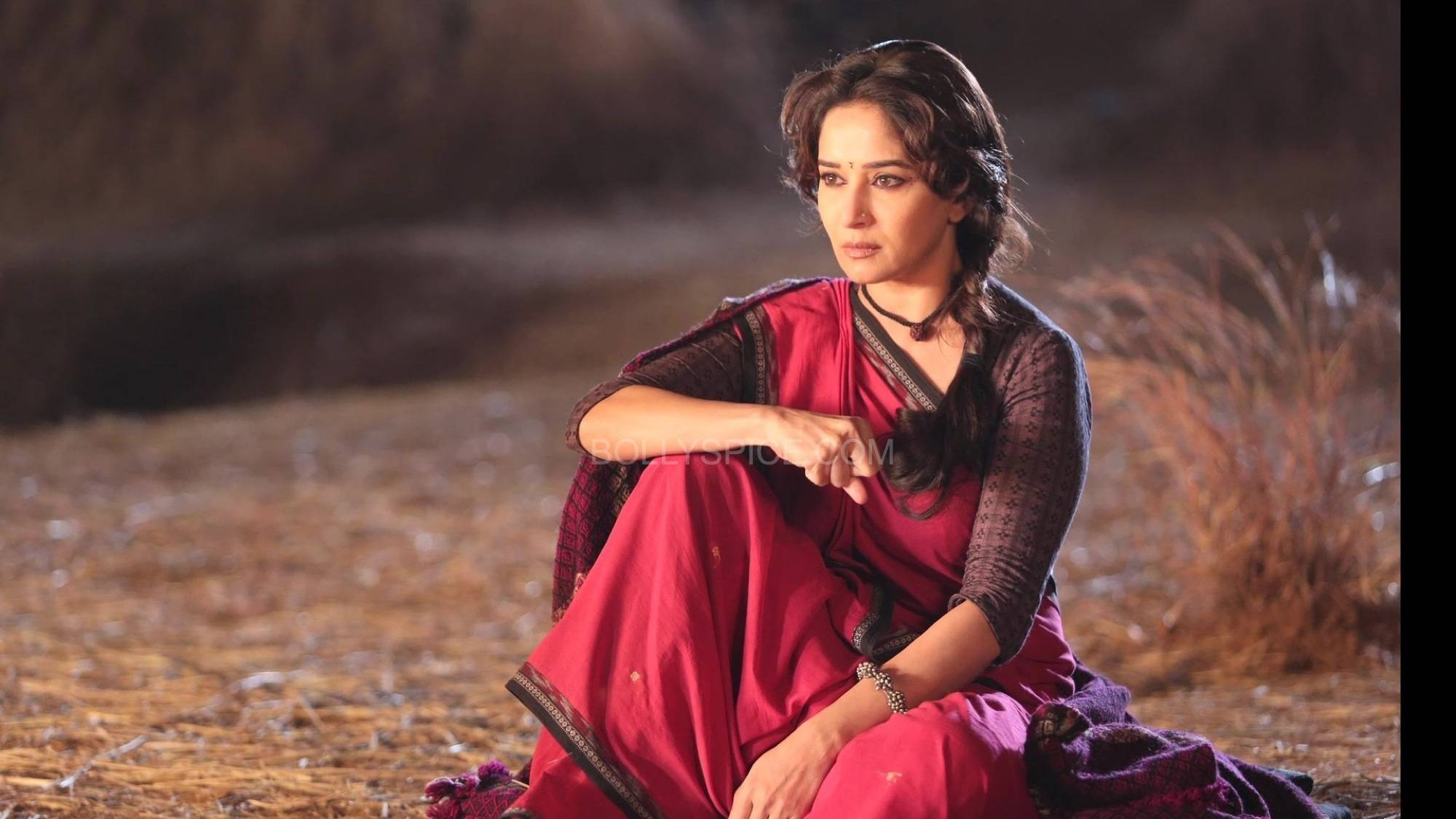 dheemidheemigulaabgang4 The magic of Madhuri in Dheemi Dheemi   Gulaab Gang