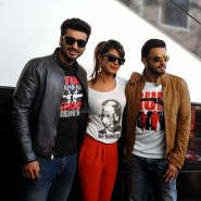 gundaycollegevisits9 185x185 In Pictures: Arjun, Ranveer and Priyanka Promoting Gunday!