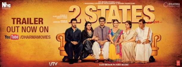 14mar 2States HPoster 612x226 KJo ready to launch his next protege Abhishek Varman with 2 States