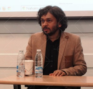 14mar AnandGadhiSOAS01 300x289 Anand Gandhi at an exclusive event at SOAS in London