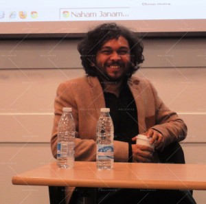 14mar AnandGadhiSOAS02 300x297 Anand Gandhi at an exclusive event at SOAS in London