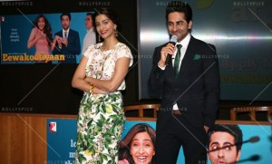 14mar Bewakoofiyaan promotions 300x181 Mohit Chaddha and Mayera Sehgal announce a unique promotional contest for their upcoming film