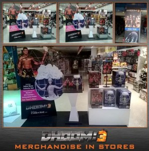 14mar Dhoom3MerchandiseStore 297x300 Dhoom:3 merchandise garners overwhelming success!