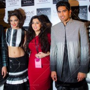 14mar FuglyLFWKochhar08 185x185 Cast of Fugly at Lakme Fashion Week Summer/Resort 2014