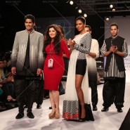 14mar FuglyLFWKochhar10 185x185 Cast of Fugly at Lakme Fashion Week Summer/Resort 2014