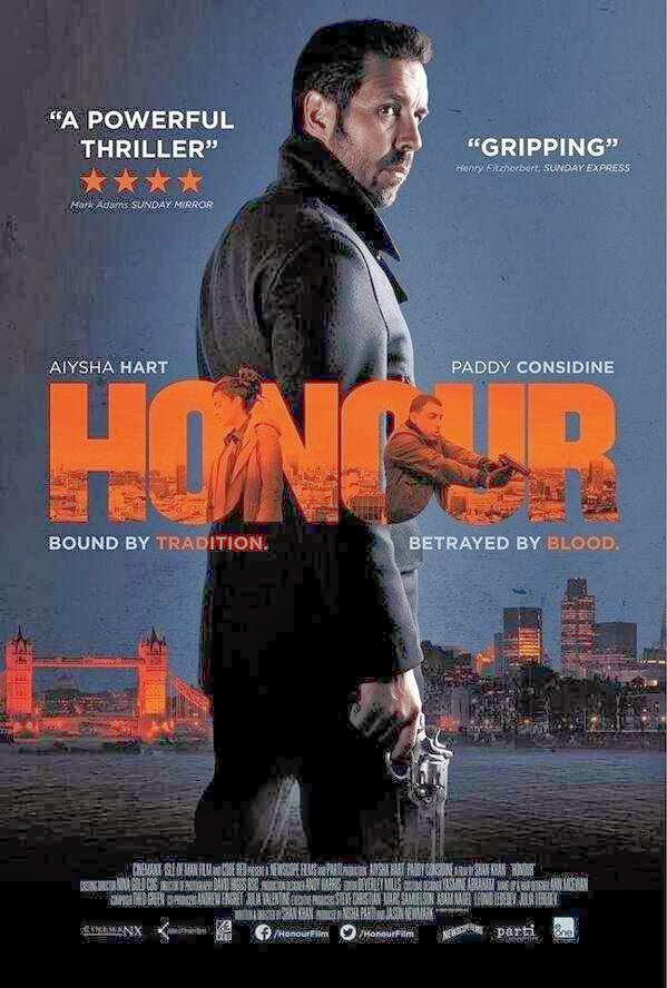 14mar Honour Poster01 Honour directed by Shan Khan to release in cinemas next month