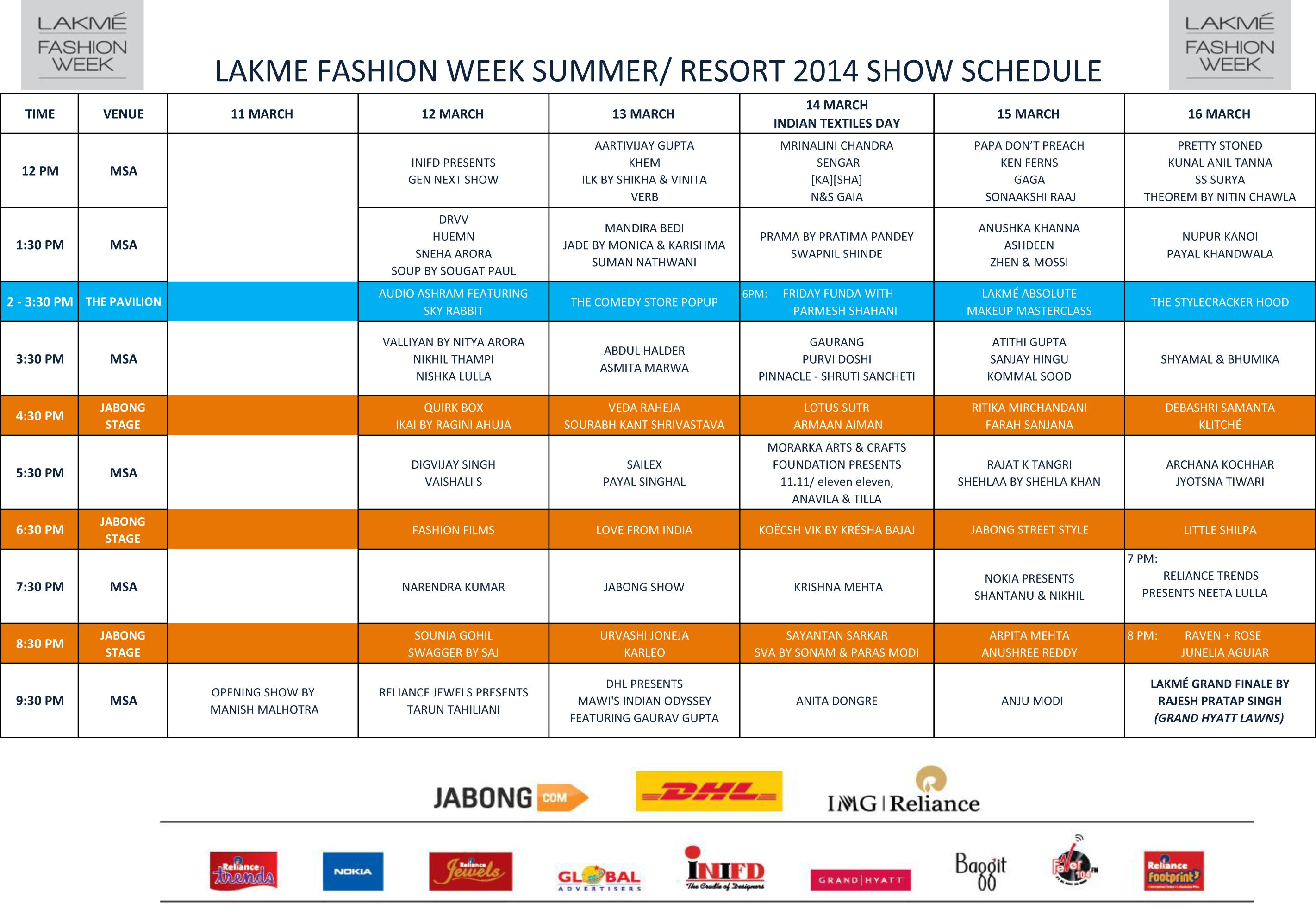 Lakme Fashion Week 44