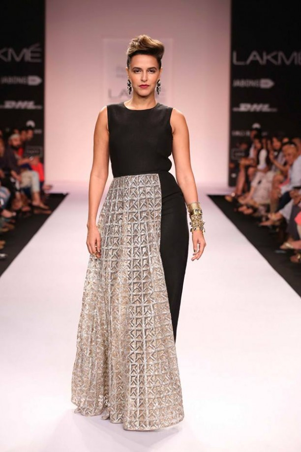 14mar LFWSR Bollywood03 612x918 Bollywood Showstoppers at Lakme Fashion Week Summer Resort 2014