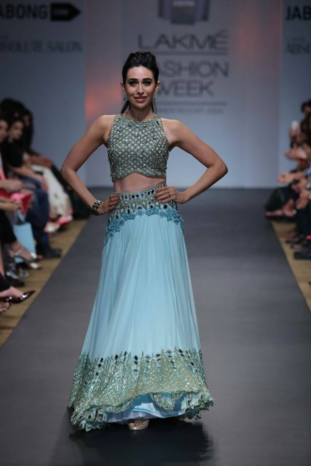 14mar LFWSR Bollywood12 612x918 Bollywood Showstoppers at Lakme Fashion Week Summer Resort 2014