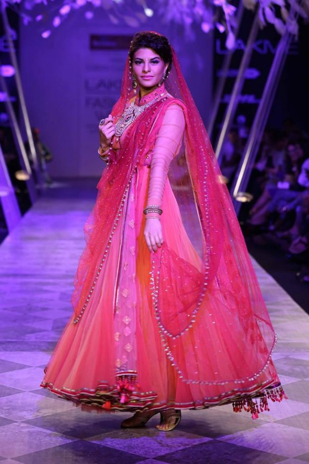 14mar LFWSR Bollywood18 612x918 Bollywood Showstoppers at Lakme Fashion Week Summer Resort 2014