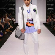 14mar LFWSR D4 SanjayHingu01 185x185 Lakme Fashion Week SR 2014 Day 4 sees collections from designers like Anushka Khanna, Shantanu & Nikhil and more...