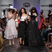 14mar LFWSR Junelia03 185x185 Unconventional and Quirky collections on the Jabong stage at the Lakme Fashion Week SR 2014