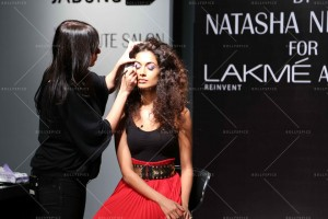 14mar LFWSR2014 NischolMasterclass01 300x200 Natasha Nischol conducts Lakme Absolute Illusion Makeup Masterclass at LFW SR 2014