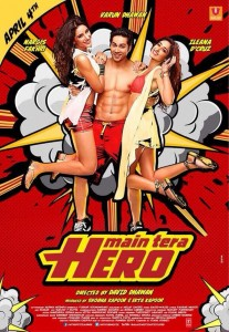 14mar MainTeraHero MusicReview 207x300 Box Office   Main Tera Hero is a success