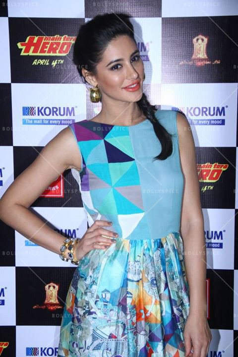 14mar NargisFakri MTH Nargis Fakhri to scorch the screen in Main Tera Hero