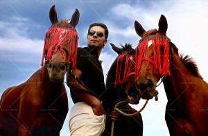 14mar RandeepHooda 300x197 Randeep Hooda   Shuffling National Equestrian Championship with Kick