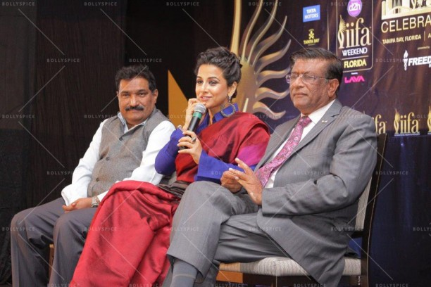 14mar VidyaIIFA Houston02 612x408 More details on Vidya Balan in the US and IIFA in Tampa!