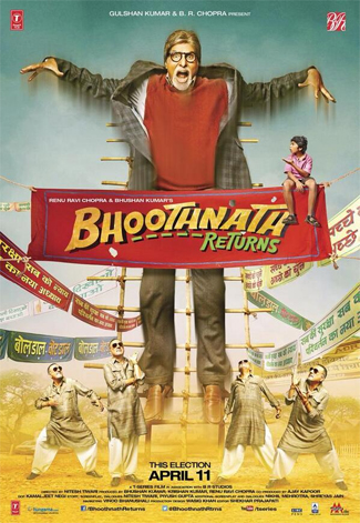 14mar bhoothnathreturnsmusic Bhoothnath Returns Music Review